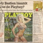 Cindy Bastien bientôt en Une de Playboy