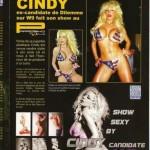 Cindy fait son show