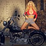 Photoshooting avec une moto